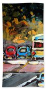 Autumn On The Boulevard Beach Towel