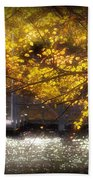 Autumn On The Cove Beach Towel
