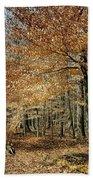 Autumn Paradise Beach Towel