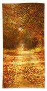 Autumn Paradisium Beach Towel