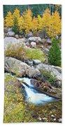 Autumn Peace Beach Towel