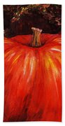 Autumn Pumpkins Beach Towel