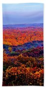 Autumn Rainbow Beach Towel