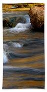 Autumn Rapids Beach Towel