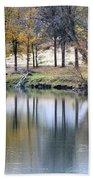 Autumn Reflection 16 Beach Towel
