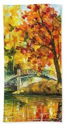 Autumn Rest   Beach Towel