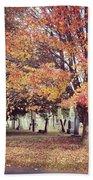 Autumn Serenity  Beach Towel