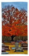 Autumn Somnolence  Beach Towel