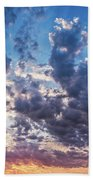 Autumn Sunrise - Lyme Regis Beach Towel