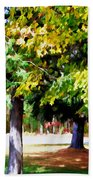 Autumn Trees 7 Beach Towel