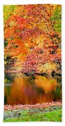 Autumn Warmth Beach Towel