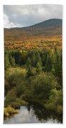 Autumn - White Mountains New Hampshire Beach Sheet