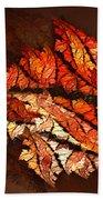Autumn Wind Beach Towel