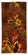 Autumnal Glow Beach Towel