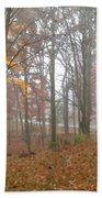Autumnal Mist Beach Towel