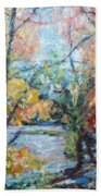 Autumn's Splendor Beach Towel