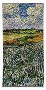 Landscape Auvers28 Beach Towel