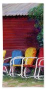 Available Seating Beach Towel