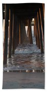 Avalon Pier At 32nd Street Beach Towel
