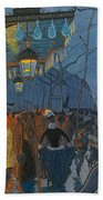 Avenue De Clichy. Five O'clock In The Evening Beach Towel