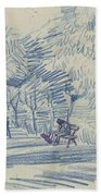 Avenue In A Park Arles, May 1888 Vincent Van Gogh 1853 - 1890 Beach Sheet
