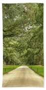 Avenue Of The Oaks Beach Sheet