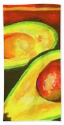 Avocado Sabroso Beach Towel