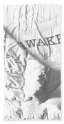 Awake Beach Towel
