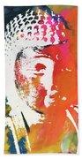 Awakened Buddha 5- Art By Linda Woods Beach Towel