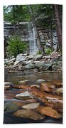 Awosting Falls In July Iv Beach Towel