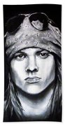 Axl Rose - Welcome To The Jungle Beach Towel
