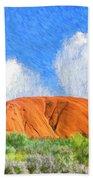 Ayers Rock Beach Towel