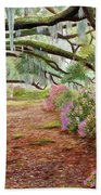 Azalea Alley Beach Towel