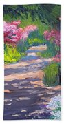 Azalea Path - Sayen Gardens Beach Towel