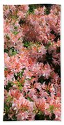 Azalea Wall Beach Towel