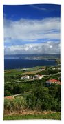 Azores Islands Landscape Beach Towel