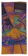 Aztec Abstract Beach Towel