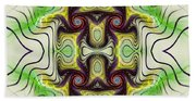 Aztec Art Design Beach Towel