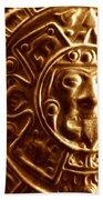 Aztec Gold Photograph Beach Towel