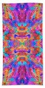 Aztec Kaleidoscope - Pattern 030 Beach Towel