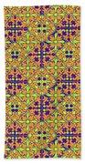 Azulejos Magic Pattern - 09 Beach Towel