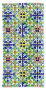 Azulejos Magic Pattern - 11 Beach Towel