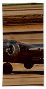 B-17 Bomber Beach Sheet