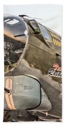 B-17 Texas Raiders Beach Towel