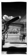 B-25 Mitchell Infrared Beach Towel