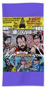 B Movie Beach Towel