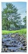 Babbling Creek Beach Towel