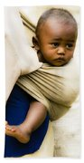 Baby In A Sling Beach Towel