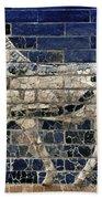 Babylon: Enamel Brick Bull Beach Towel