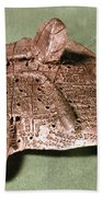 Babylonian Cuneiform Beach Towel